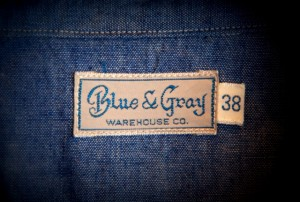 BLUE-GRAY WAREHOUSE
